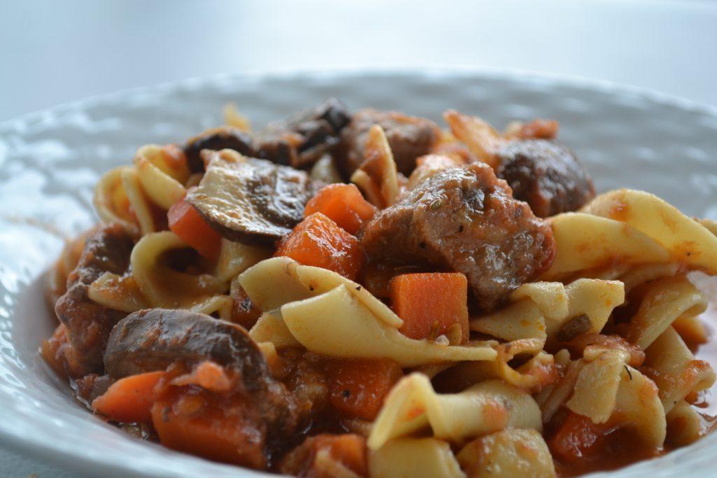 beef Mushroom Ragu